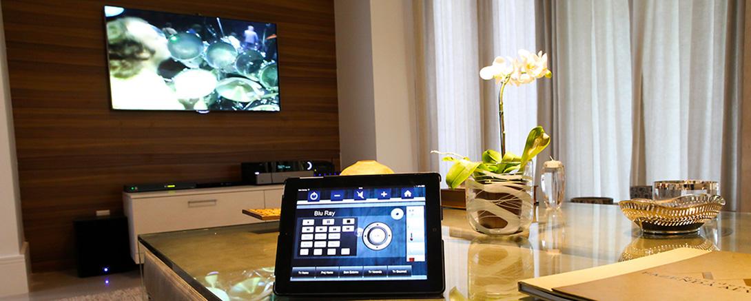 Automação para controle de TV, Blu Ray e DVD