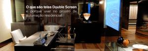 O Que são Telas Double Screen e Por Que Usar no Projeto de Automação Residencial